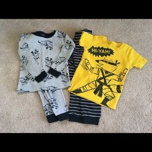 Boy's 3T Pajama Sets, Carter's Ninja Raccoon